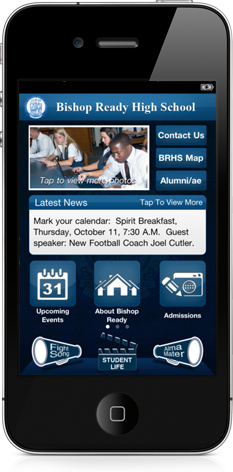 Bishop Ready High School for iPhone, iPad and Android