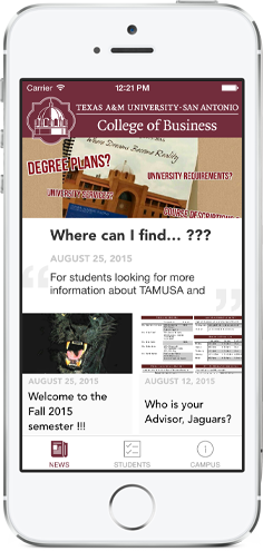 Texas A&M University-San Antonio College of Business for iPhone and Android