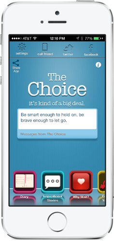 The Choice App for iPhone and Android